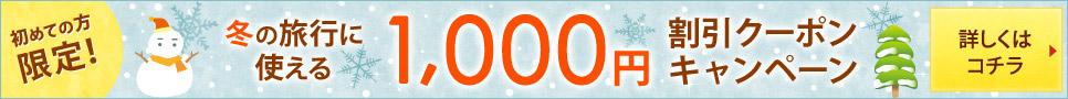 ���߂Ă̕����I12���̗��s�Ɏg����1,000�~����N�[�|���L�����y�[��
