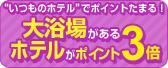 【ポイント3倍】ホテル&大浴場
