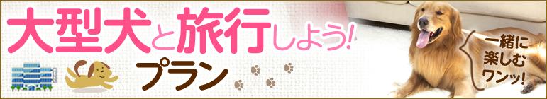 大型犬受入れ可の宿・ホテル【ペットと泊まろう!旅行しよう!特集】