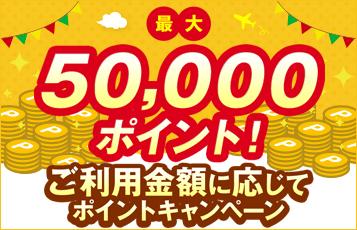 50000キャンぺーン