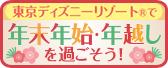 東京ディズニーリゾート®で年末年始・年越しを過ごそう!