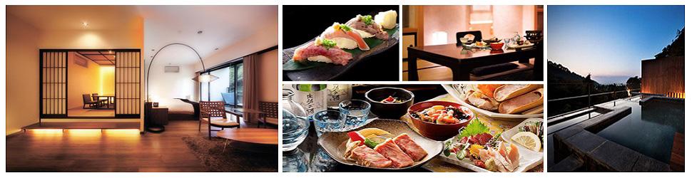 (ホテル名) 会津東山温泉 客室専用露天風呂付のスイートルーム はなれ松島閣