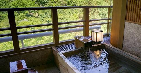 (ホテル名) 人気の露天風呂付客室と美味に和む宿かのうや